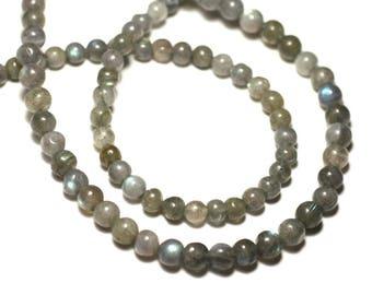 20pc - stone beads - Labradorite 5-6mm - 8741140022683 balls