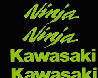 kawasaki zx6r stickers