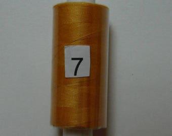 Reel 360 m light orange polyester thread