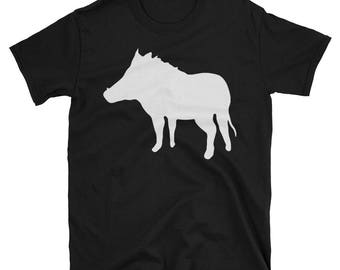 Metal Gear Online Revival MGO MGO2R Hog Animal Rank Unisex T-shirt