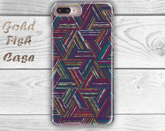 Colorful Stripes Iphone 7 Case Pastel Iphone 7 Plus Case Stripes Iphone 7 Pro Case Colorful Iphone Pro Case Colorful Iphone 7 Cover s055