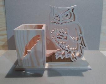 Pencil holder: OWL
