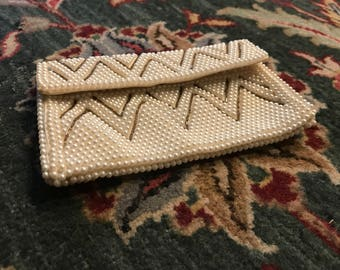 Vintage Wedding Beaded Mini Bag