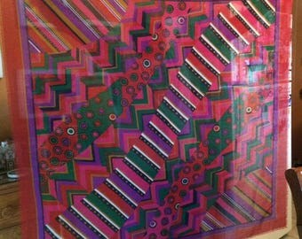 Art of the Scarf for Tie Rack / Large Scarf - Shawl Wrap