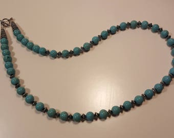 Necklace with Turquoise beads