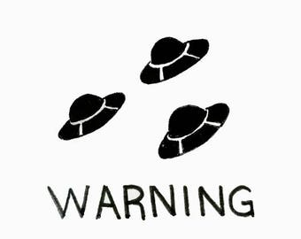 Warning: UFOs