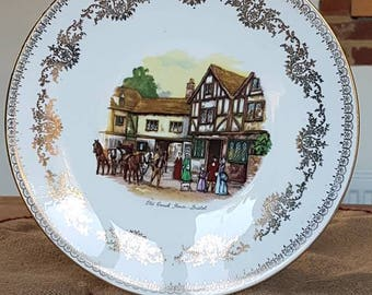 "Decorative Bone China Plate by ""Gainsborough"" Made in England!"