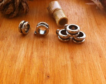 10 bails with a black Center Groove for creations of jewels