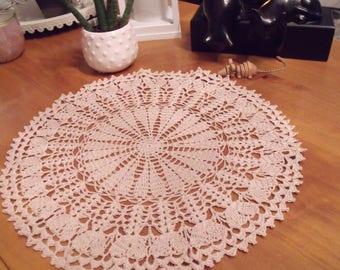 romantic crocheted doily