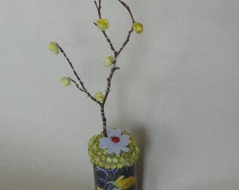 """March challenge """"the arrival of spring"""", decorative object"""