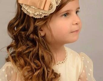 Beige Communion Headband