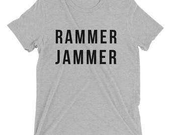 RAMMER JAMMER short sleeve t shirt gamed shirt