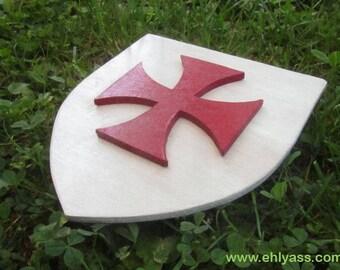 TEMPLAR cross Crest wall sculpture