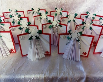 "Mark up ""book tree"" table decoration Christmas"