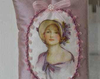 Romantic door silk cushion
