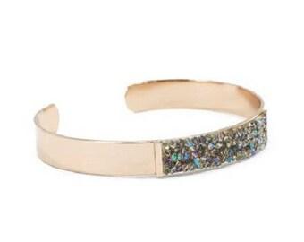 Chromed Gold Bracelet