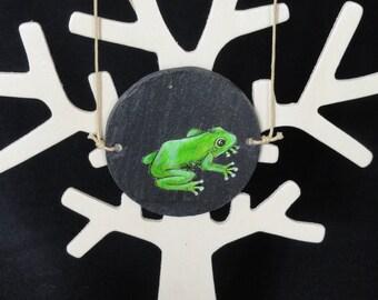 hand painted thaumatrope way pendant jewelry