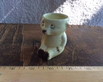 VINTAGE EGG CUP, Keele Street Pottery, England