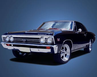 1967 Chevy Chevelle ss | Poster | 24x36 inches