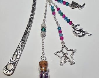 Fairy bookmark multicolored 2