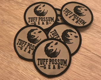 Tuff Possum Gear Logo Patches