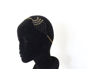 "Head/necklace jewelry ethnic chic ""Spirit pineapple"""