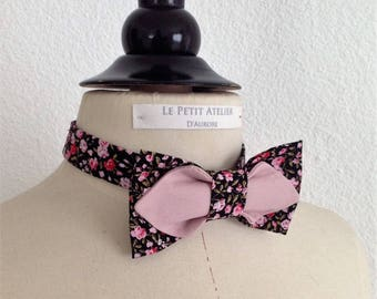 Tied bow tie trend for men