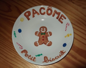 """child's plate """"biscuit"""""""