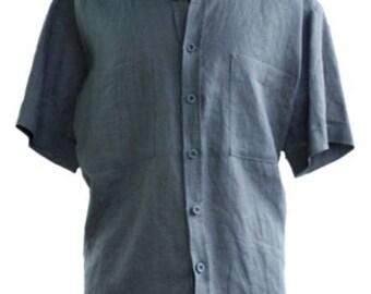 Shirt Chanvrine - 100% hemp - gray color