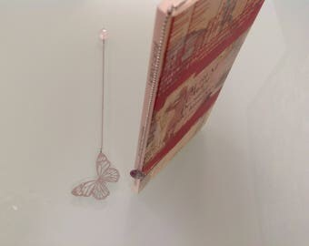 Butterfly bookmark.