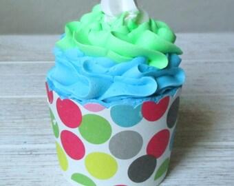 Lavender/Chamomile Cupcake Bath Bomb