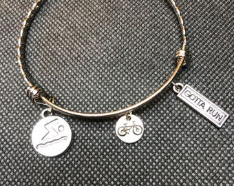 Fitness Triathlon bracelet