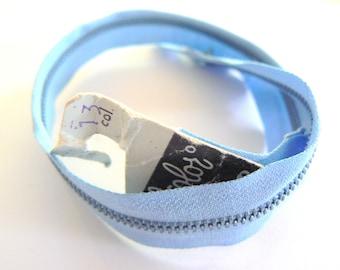 sky blue zipper 30 lightning Filcolor No. 13 years 50-70 cm