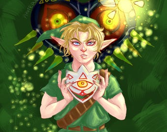 The Legend of Zelda: The Majoras Mask - Link