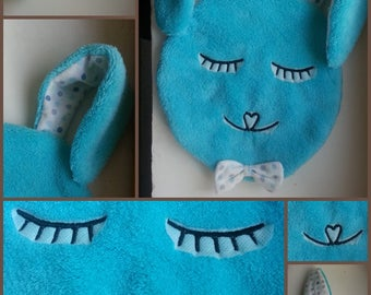 Plush rabbit smart was customized by name