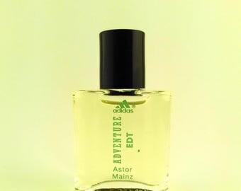 Vintage Mini Perfume Adidas Adventure 5 ml 0.17 oz Eau de Toilette