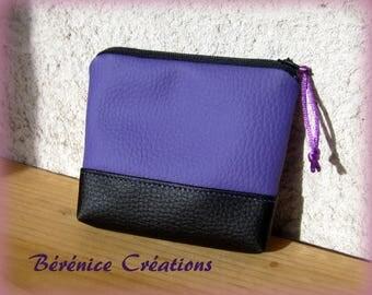 """Wallet """"joyful color"""" Purple"""