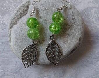 Earrings beads