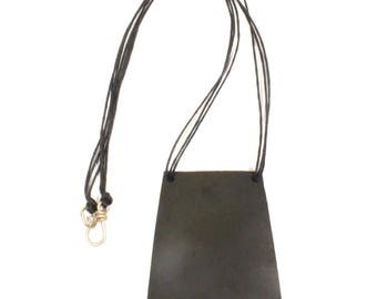 Necklace with recycled tractor inner