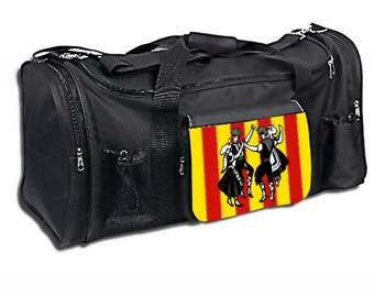 Gym bag or travel catalan style size L