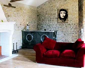 Painting on canvas deco Che Guevara 55 x 80