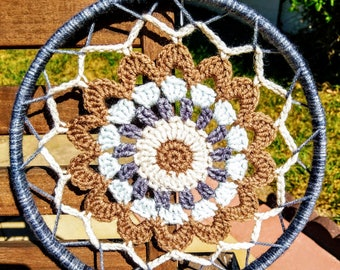 Dream Catcher - Decorative Crochet Wall Art