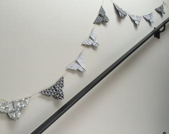 Garland origami Butterfly
