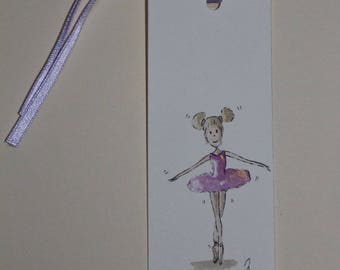 bookmark or gift tags gift dancer 1