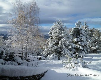 Poster from a Celine Photos Art Nature Photography of a snowy landscape