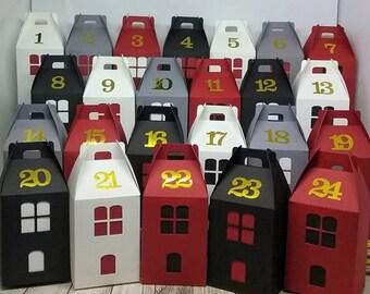 Maiosonnettes for advent calendar