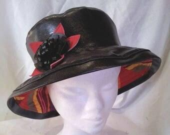 rain rim Mexico Boater Hat