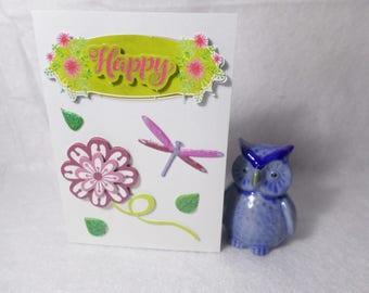 """""""Happy"""" birthday/holiday card"""