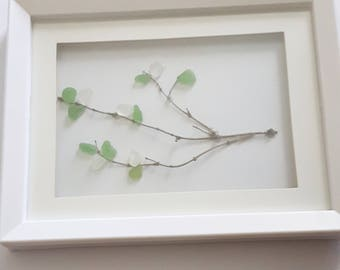 Sea Glass Tree Branch