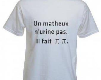 T-shirt man math humor